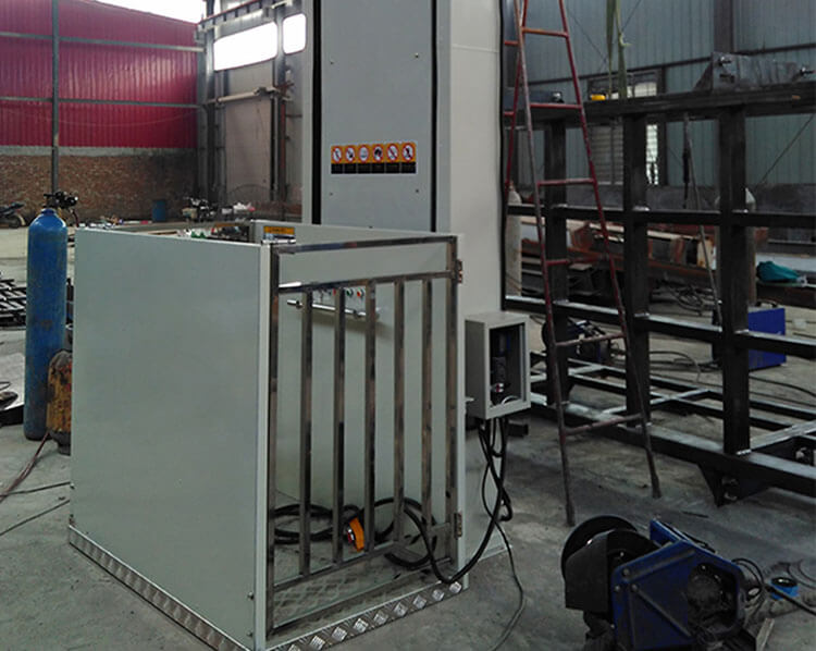 Vertical Wheelchair Lift Platform