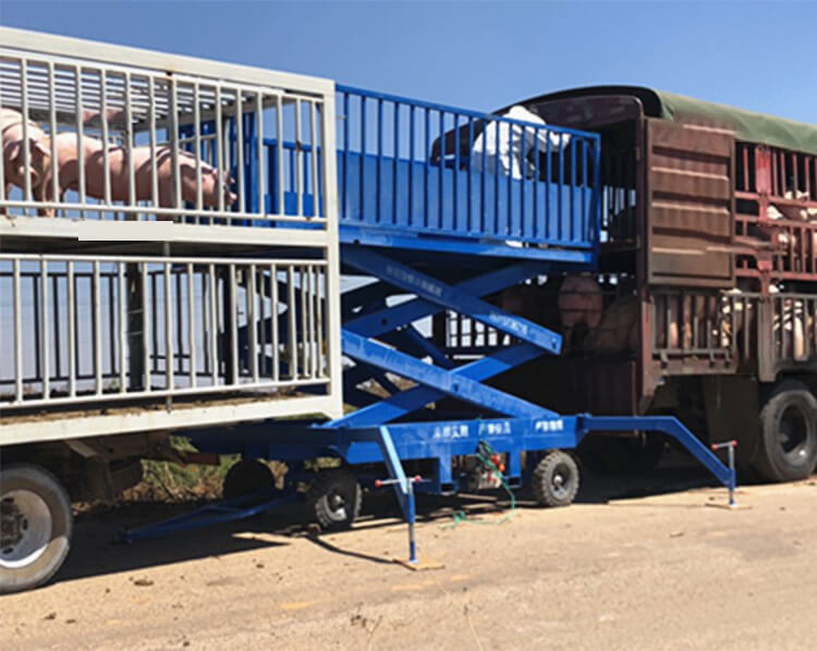 Mobile Scissors Loading Dock Lift