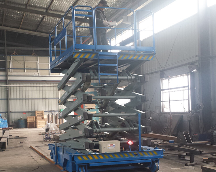 Rail walking scissors lift Y-XG