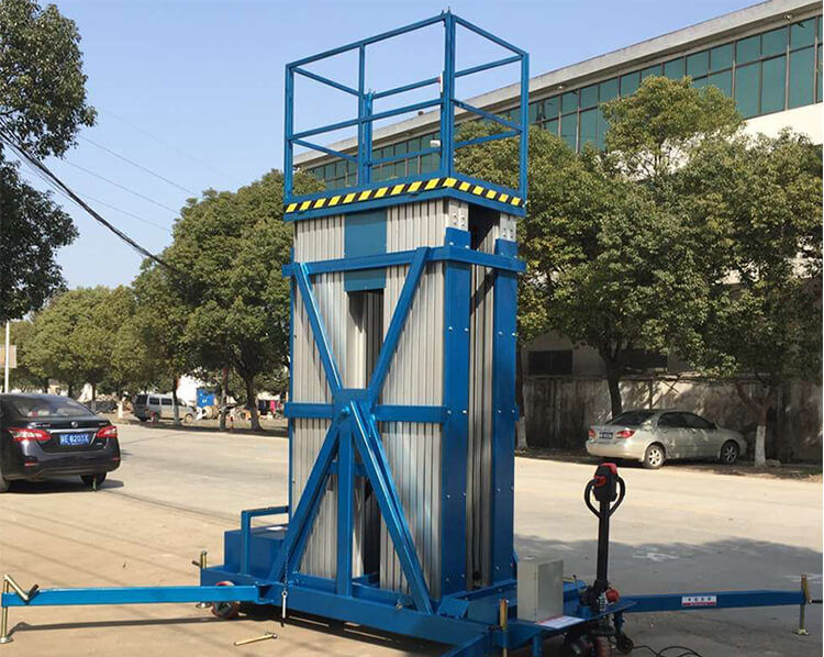 Tiltable Type Aluminum Mast Lift Y-NQ