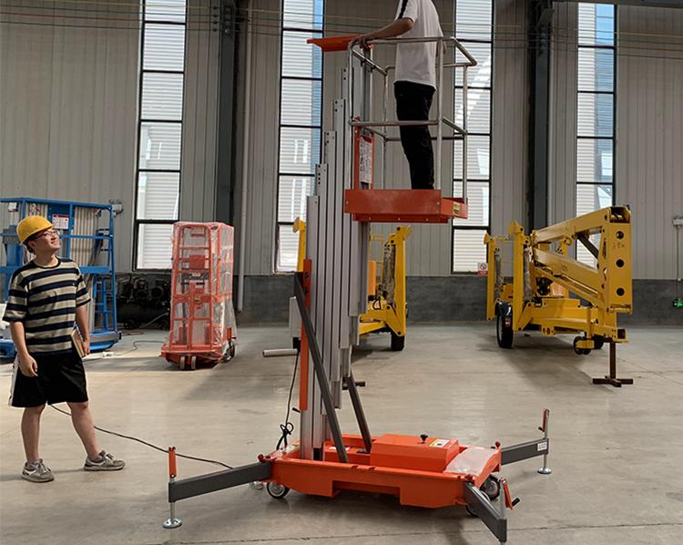 Single Mast Lift