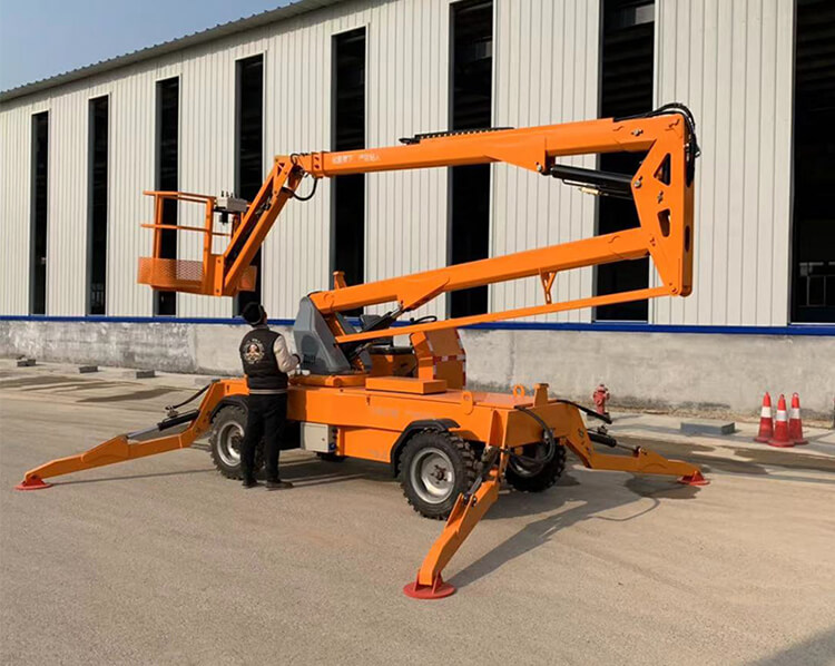 Self-Propelled Boom Lift
