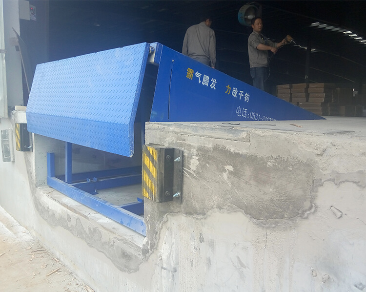 Fixed Hydraulic Dock Leveler