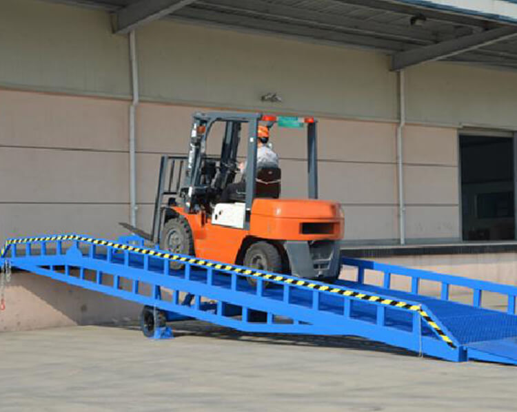 Movable Dock Leveler