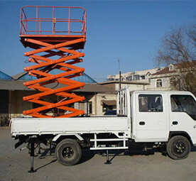 Truck mounted scissor lift Y-XC