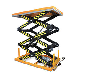 Three scissors lift table platform BLX-C